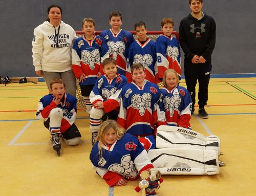 Bambini 1 beim Mini Eagles Cup in Kaarst