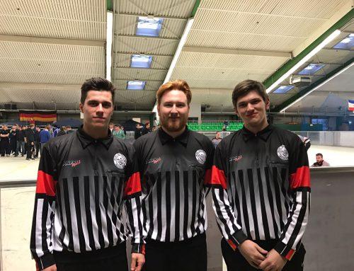 3 neue Schiedsrichter bei den RAMS