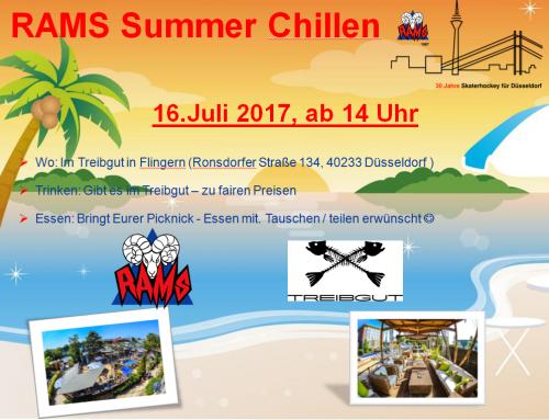Wettervorhersage passt – Rams Summer Chillen kann kommen