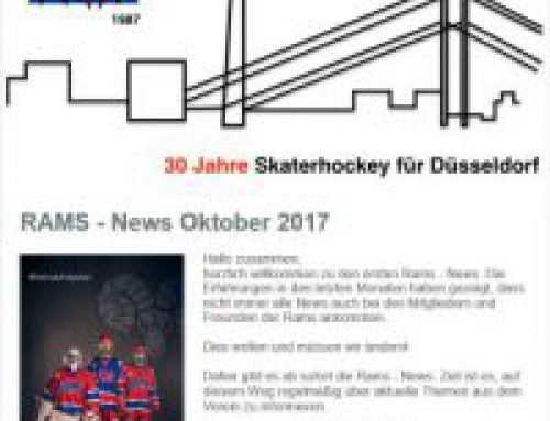 Rams News sind in der Post