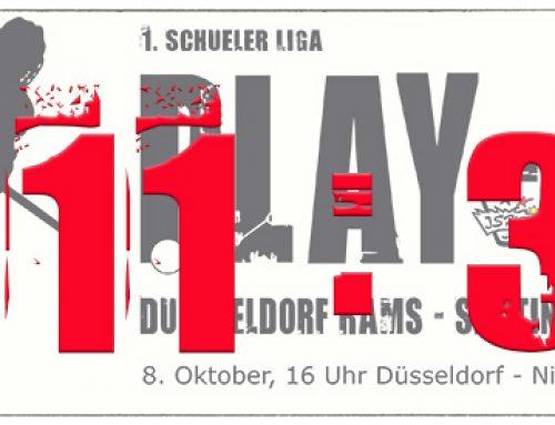 Schüler 1 gewinnen erstes Play-Off gegen Krefeld