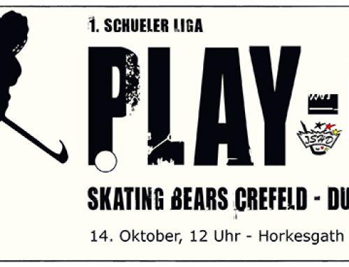 Schüler 1 im 2. Play-Off gegen Krefeld am Samstag